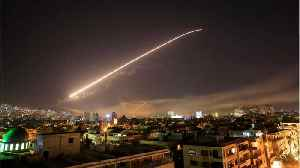 News video: U.S., UK, France Strike Syria In First Coordinated Action Against Assad