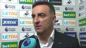 News video: Carvalhal: Swansea deserved win