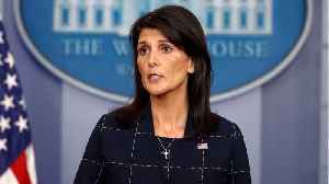 News video: If Syria uses toxic gas again, U.S. 'locked and loaded': U.N. envoy Haley