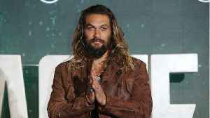 News video: Jason Momoa Shows off Aquaman Skateboards