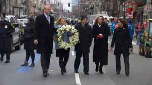 News video: Boston marks five years since marathon bombings