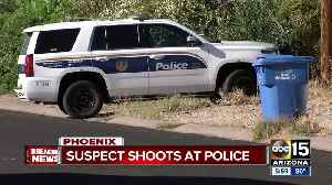 News video: Suspect dead after shooting at Phoenix police officers