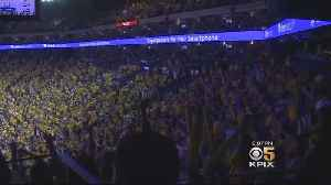 News video: Dub Nation Ready To Win At Oracle In Playoff Game One Against Spurs