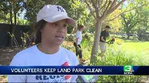 News video: Group of dedicated volunteers work to maintain Sacramento park