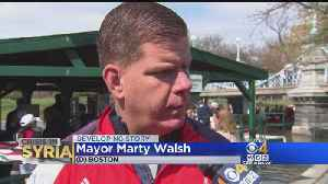 News video: Boston Mayor Supports Air Strikes In Syria: 'We Have To Respond'