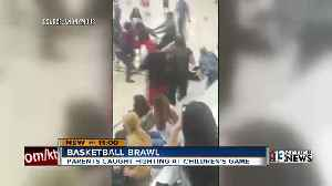 News video: Adults fight during kid's basketball game
