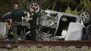 News video: Two teens killed in rollover crash in Pompano Beach