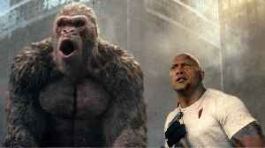 News video: 'Rampage' Hits $34.5 Million At Box Office