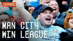 News video: Man City Win Premier League | City Fans React