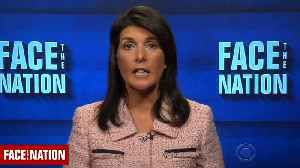 News video: Nikki Haley: U.S. Imposing More Sanctions on Russia Over Alleged Syria Chemical Attack