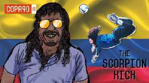 News video: Rene Higuita's Scorpion Kick: When The World Fell For Colombian Soccer