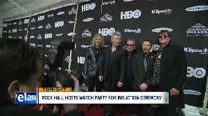 News video: Rock Hall hosts watch party for induction ceremony