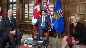 News video: Trudeau aims to remove 'uncertainty' from pipeline expansion