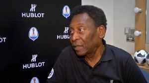 News video: Pele talks up Brazil's World Cup chances, questions more teams in tournament