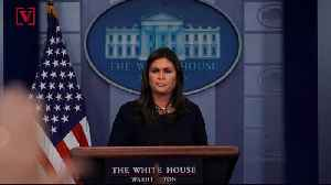 News video: Media Calls Out Sarah Sanders for 'Misleading' Tweet and Picture About Syria Briefing