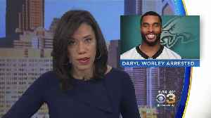 News video: Eagles Release Daryl Worley After Being Arrested On DUI And Gun Charges