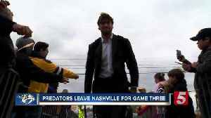 News video: Predators Leave Nashville, Head To Denver For Games 3, 4