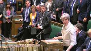 News video: Theresa May says Syria strikes were in UK's 'national interest'