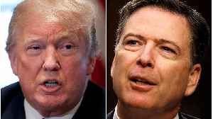 News video: Ex-FBI boss Comey brands Trump 'morally unfit to be president'
