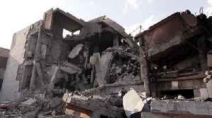 News video: CBS News travels to ruins of coalition strikes on Syria