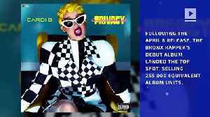 News video: Cardi B's 'Invasion of Privacy' Debuts at No. 1 on Billboard 200 Chart