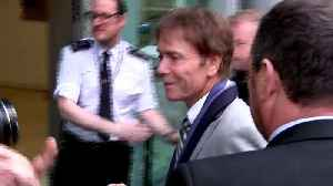 News video: Sir Cliff Richard thanks supporters after leaving court