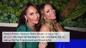 News video: Mariah Carey's Former Manager Sues for Breach of Contract