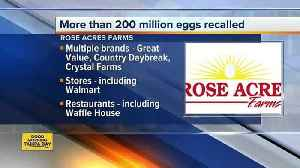 News video: Eggs recalled due to possible Salmonella contamination