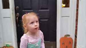 "News video: ""Toddler Girl Says She's Dressed up as Diarrhea Instead of Ballerina for Halloween"""