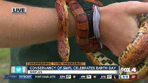 News video: Celebrate Earth Day at the Conservancy of Southwest Florida - 8am live report