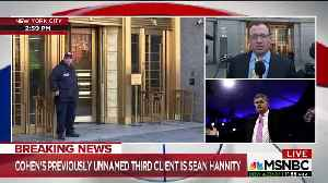 News video: Media going nuts that Hannity is Michael Cohen's third unnamed client