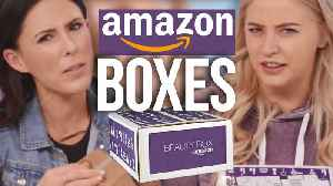 News video: Opening an Amazon Beauty Mystery Box?! (Beauty Break)