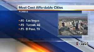 News video: Las Vegas is one of the most affordable cities in the U.S., Forbes says