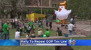 News video: Protesters Gather To Denounce GOP Tax Plan
