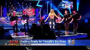 News video: Rehearsals Underway For Sunday Evening's ACM Awards
