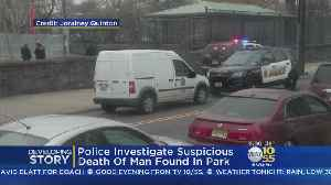 News video: Police Probe Suspicious Death Of Man In Jersey City