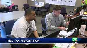 News video: Tax season more manageable thanks to free preparations