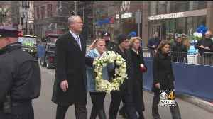 News video: Boston Marks 5 Years Since Marathon Attack With Tributes