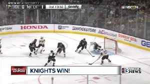 News video: Fans cheer on Knights as team takes 3-0 series lead over LA Kings
