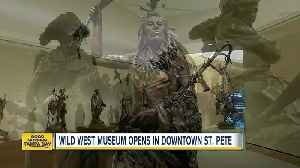 News video: Saddle up for your first look of the new James Museum of Western & Wildlife Art museum in St. Pete