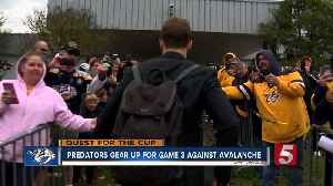 News video: Preds Prepare For Game 3 In Denver