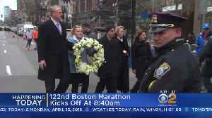 News video: Runners To Take Part In 122nd Boston Marathon