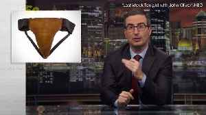 News video: John Oliver Bought Russell Crowe's Jockstrap and Here's The Weird Reason Why!