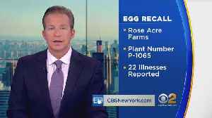 News video: Massive Egg Recall Triggered By Salmonella Concerns