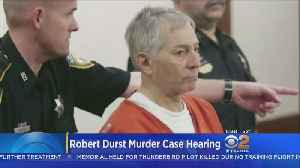 News video: Judge To Decide Whether Millionaire Robert Durst Will Be Tried For Murder