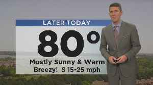 News video: Monday Afternoon Weather Update With Jeff Jamison