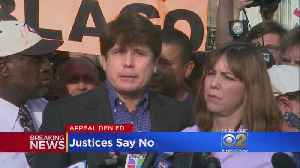 News video: Supreme Court Denies Blagojevich Conviction Appeal