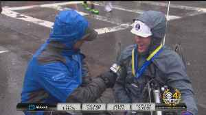 News video: Boston Marathon Bombing Survivor Patrick Downes Completes 2018 Marathon