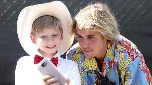 News video: Walmart Yodel Boy PERFORMS & Meets Justin Bieber at Coachella 2018