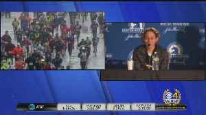 News video: Women's Champion Desi Linden Initially Thought She Would Drop Out Of Boston Marathon